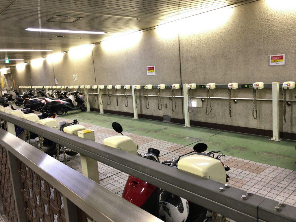 博多口地下駐輪場