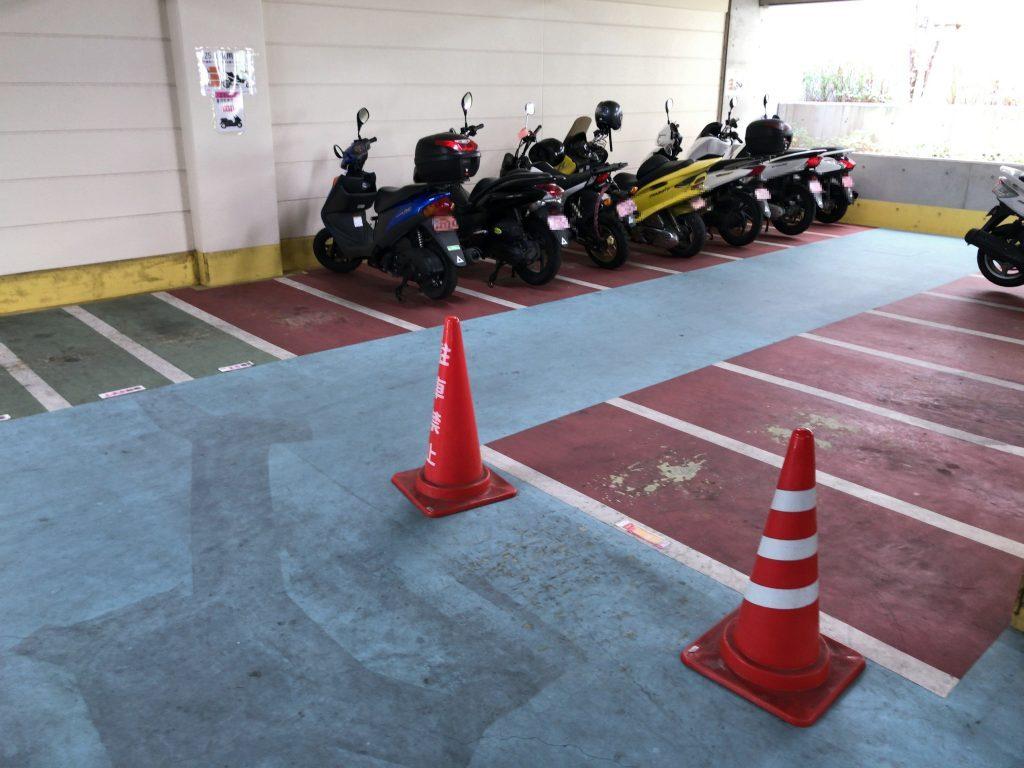 明治公園 駐輪場