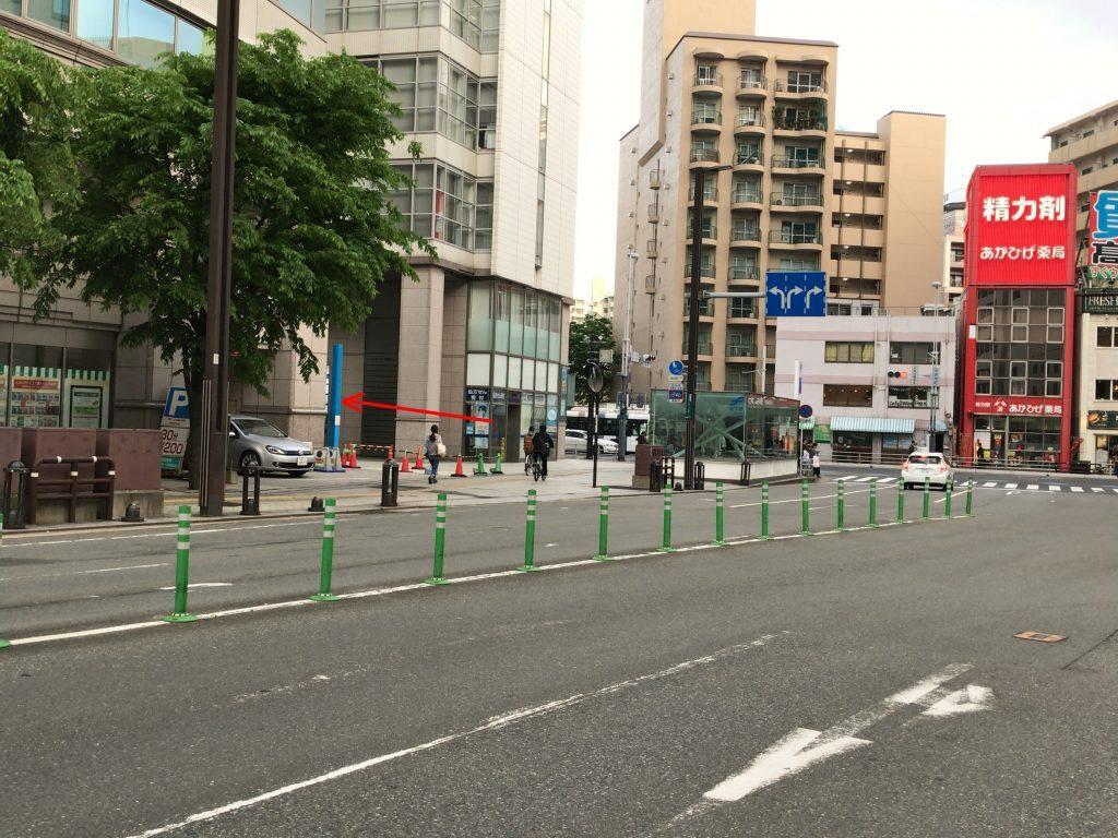 済生会福岡総合病院駐輪場