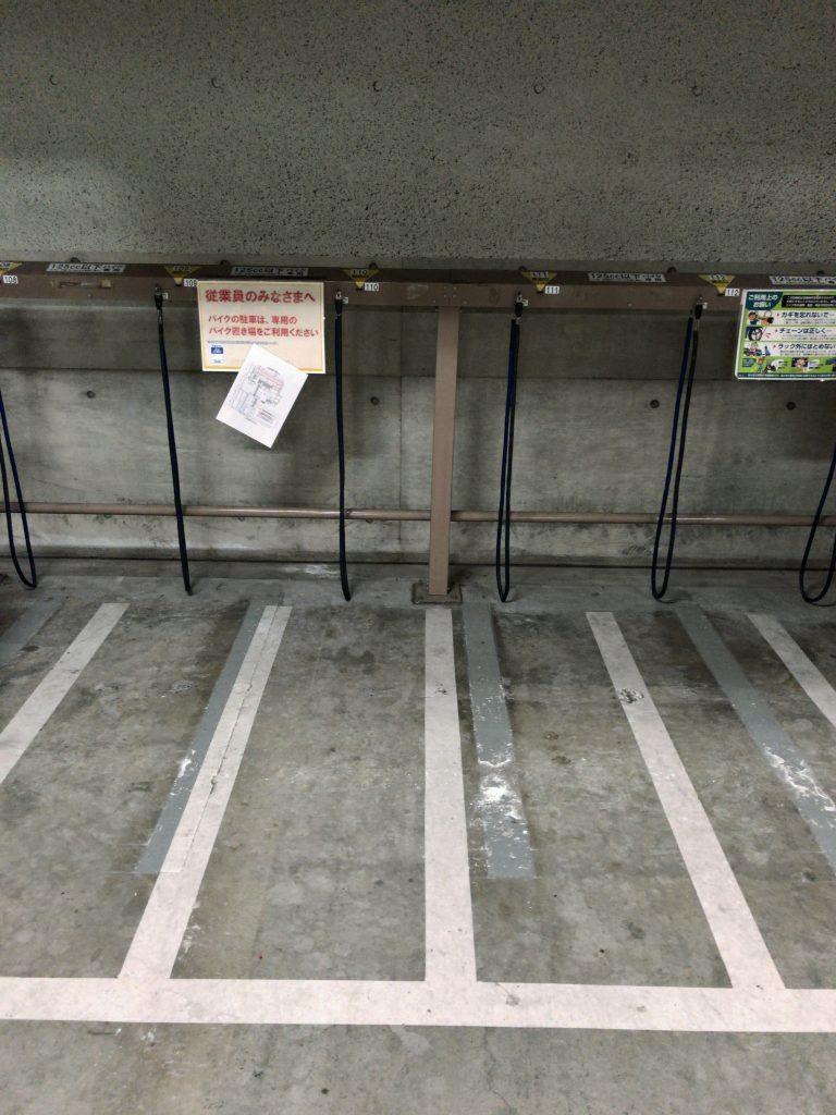 エコステーション21 パシフィーク天神駐輪場