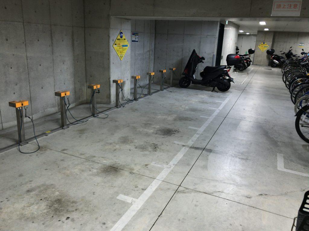 天神プライム駐輪場