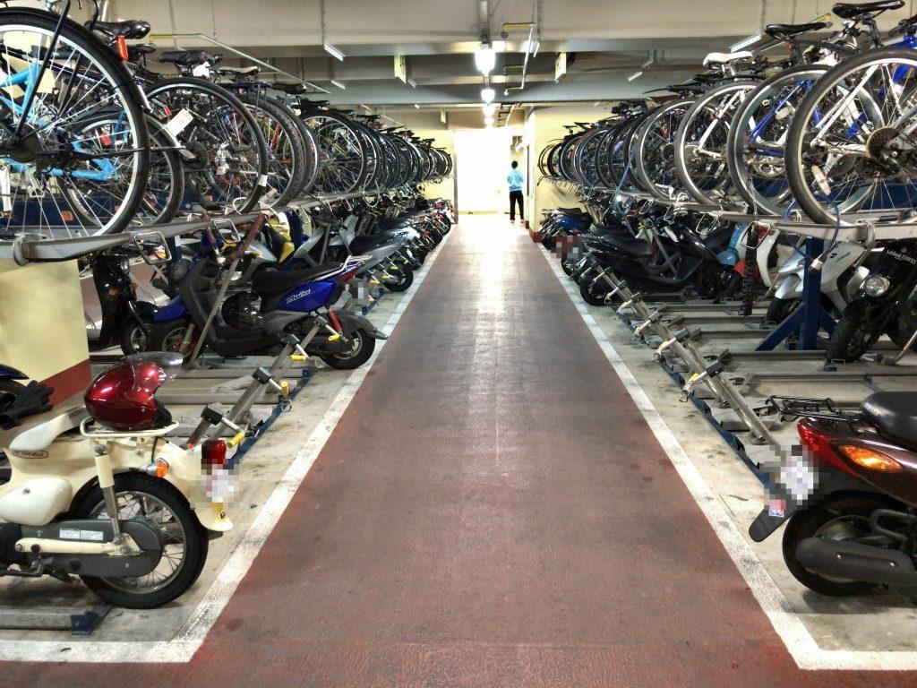 天神自転車駐車場
