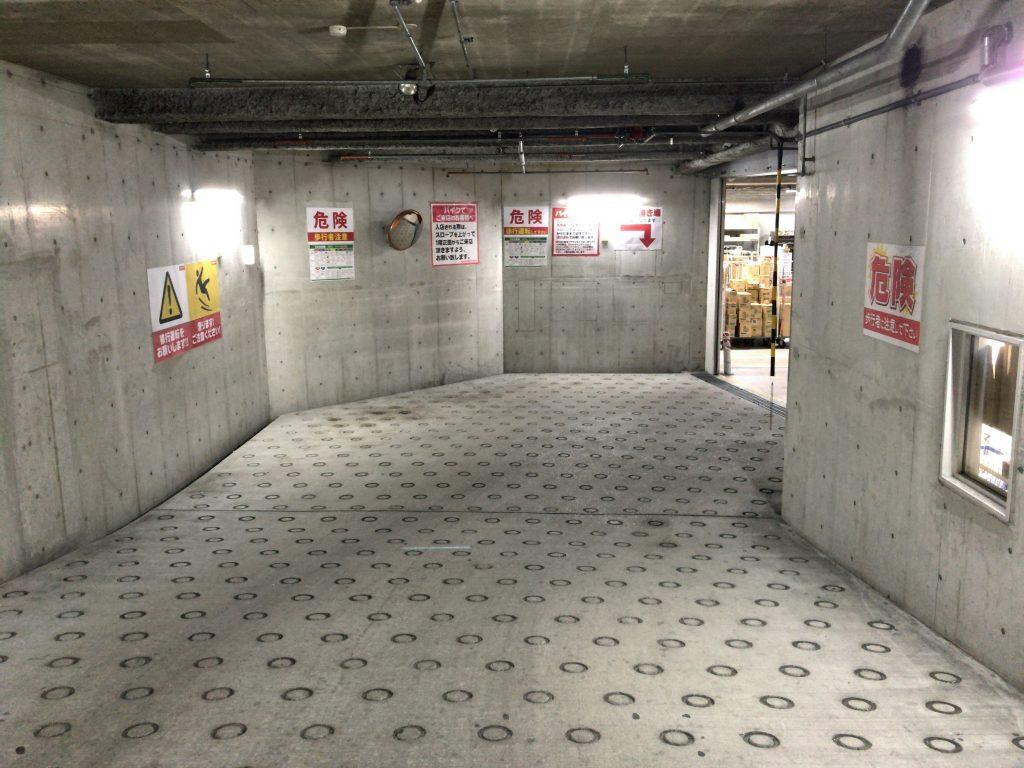 ビックカメラ天神2号館駐輪場