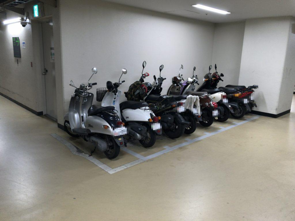 きらめき通り有料駐輪場