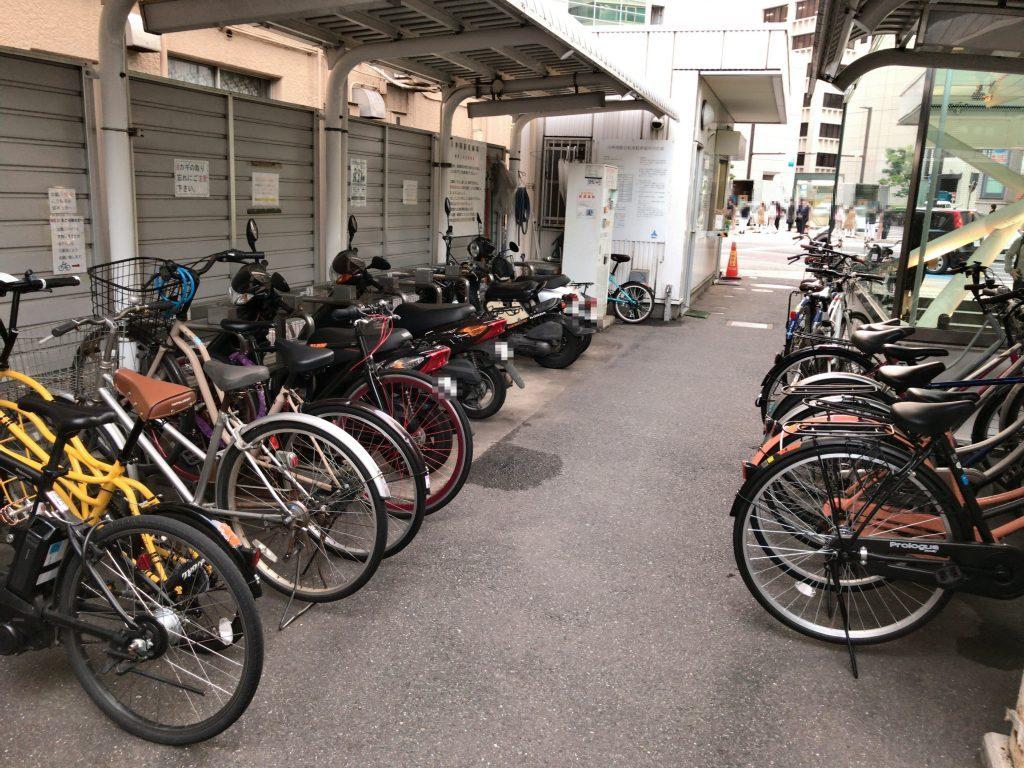 天神南駅駐輪場