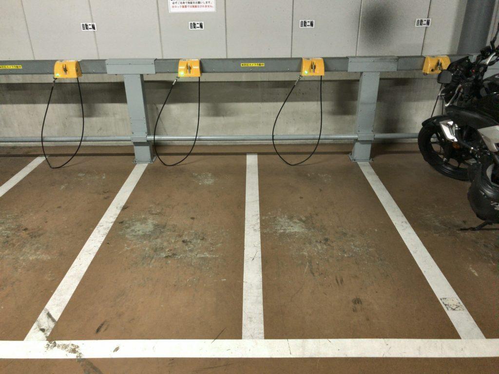 キャナルシティ第4駐輪場