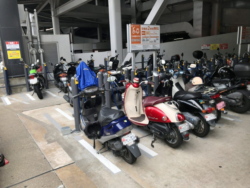 ヨドバシカメラ マルチメディア博多 駐輪場