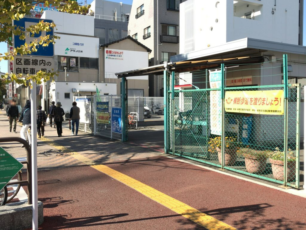 西新駅北自転車駐車場
