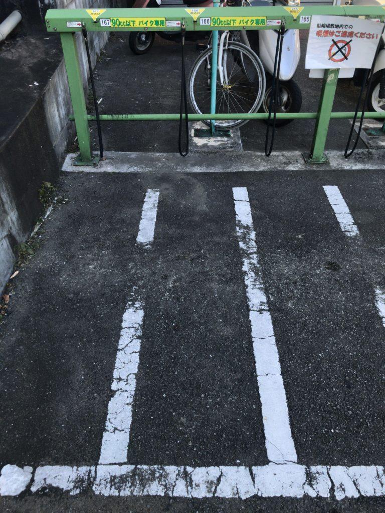 ベスト電器西新店駐輪場B