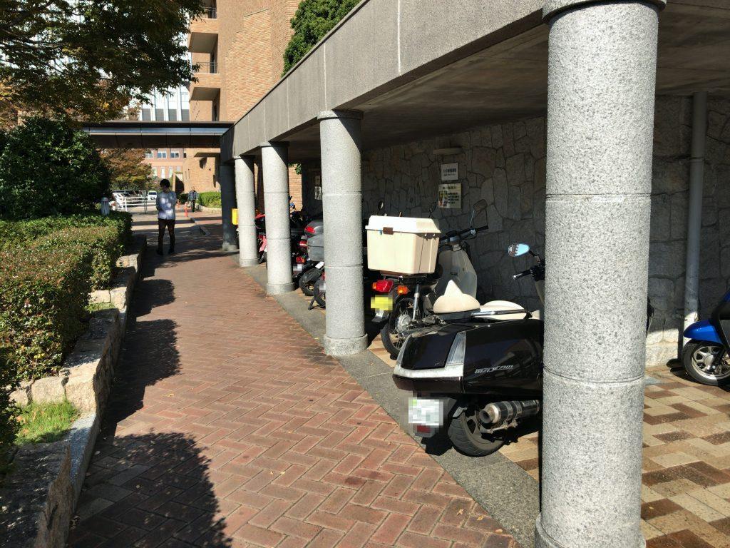 福岡市総合図書館 駐輪場