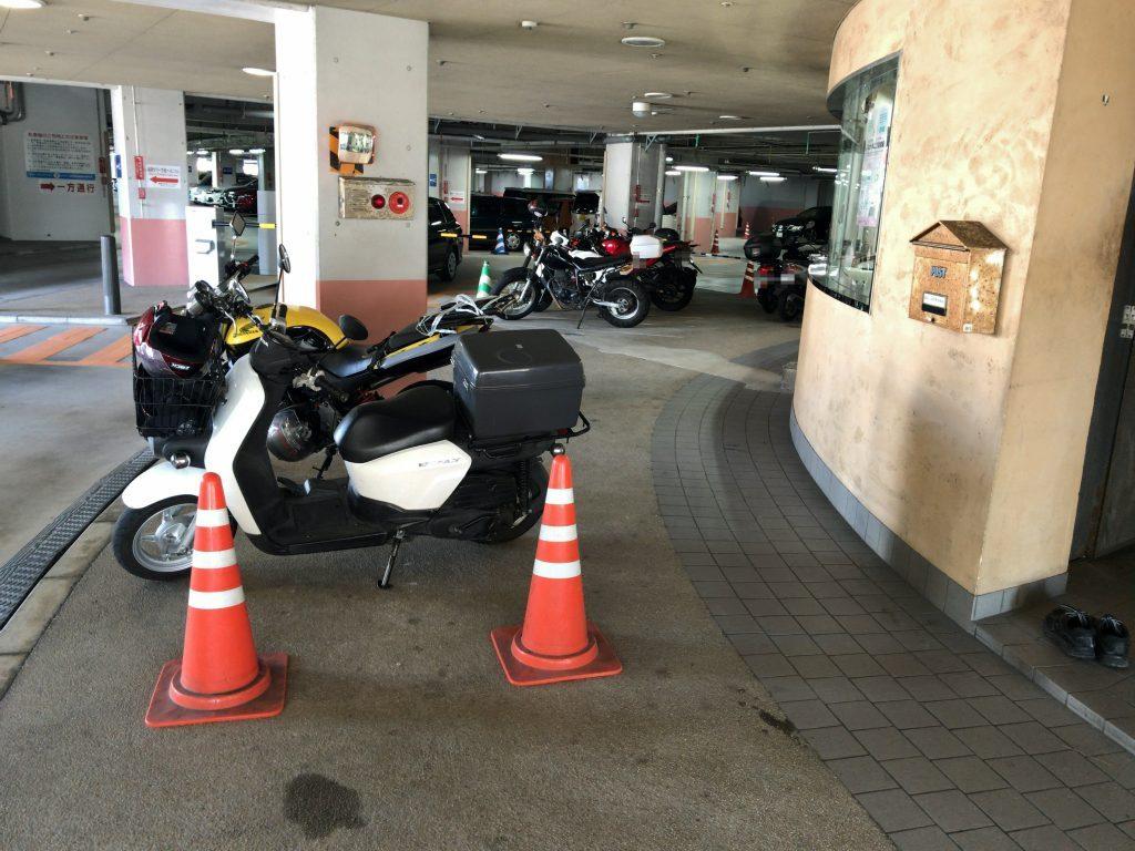 シーサイドももち海浜公園 マリゾン うみなかライン 駐輪場 駐車場