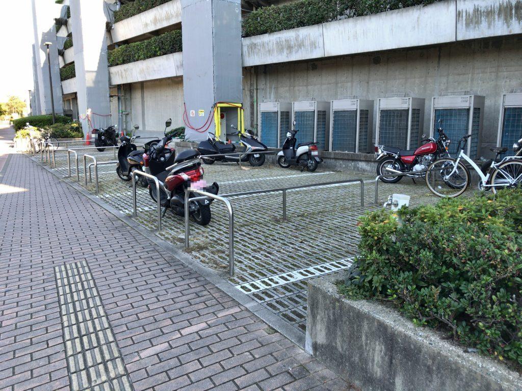 ヤフオクドーム 駐輪場