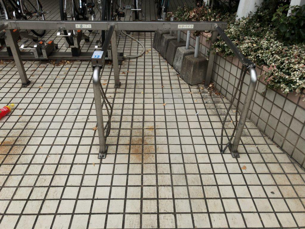 西新パレス 駐輪場