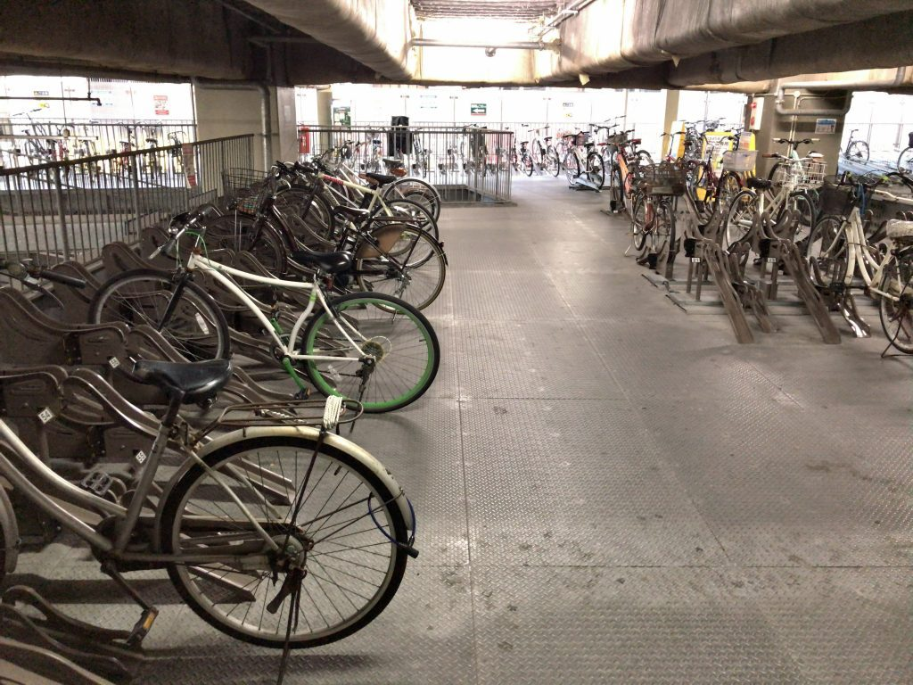 gate's自転車駐車場