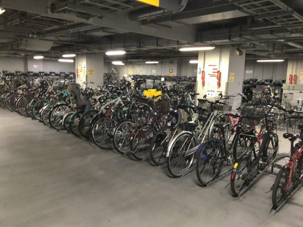 川端自転車駐車場